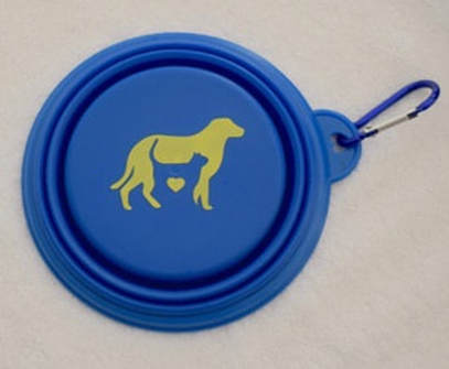 Picture of a bowl for dogs and cats by heart tokushima